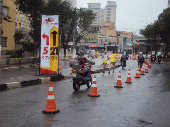 Cone de Sinalização 9 meia maratona São Bernardo