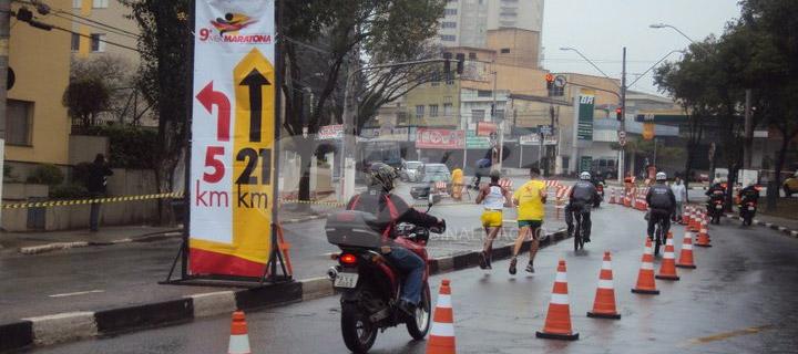 Cones 9º Meia Maratona de São Bernardo