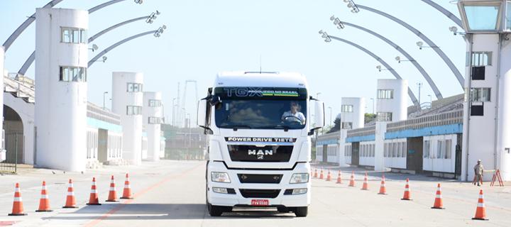 Teste drive no Sambódromo do Anhembi